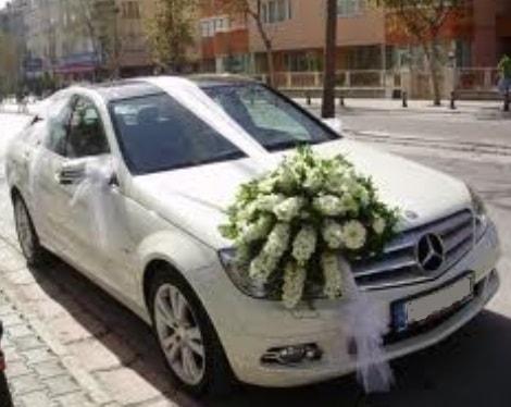 Gelin arabası süslemesi  Polatlı çiçek satışı