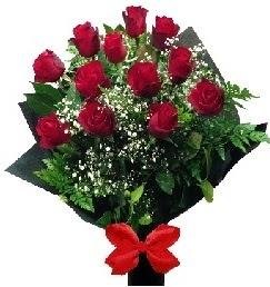 11 adet kırmızı gülden buket  Polatlıya çiçek Ankara çiçekçi telefonları