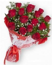 11 kırmızı gülden buket  Polatlıda çiçekçi güvenli kaliteli hızlı çiçek