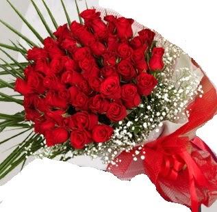 51 adet kırmızı gül buketi  Polatlı çiçek gönderme sitemiz güvenlidir