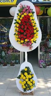 Düğün nikah açılış Çiçeği Çift katlı sepet  Polatlı internetten çiçek satışı