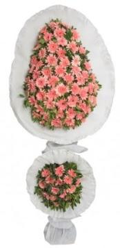 Çift katlı düğün açılış nikah çiçeği modeli  Polatlıda çiçek firması çiçek gönderme
