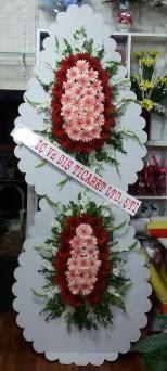 Çift katlı düğün nikah açılış çiçeği  Polatlı çiçek gönderme sitemiz güvenlidir