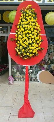 Ankara Polatlı online çiçek gönderme sipariş  Tek katlı düğün nikah çiçeği