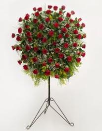 71 adet kırmızı gülden ferförje çiçeği  çiçekçi mağazası
