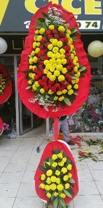 Çift katlı düğün nikah açılış çiçeği  Polatlı anneler günü çiçek yolla