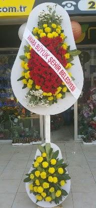 Çift katlı düğün nikah açılış çiçek modeli  çiçekçi mağazası