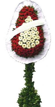 Çift katlı düğün nikah açılış çiçek modeli  Ankara Polatlı İnternetten çiçek siparişi