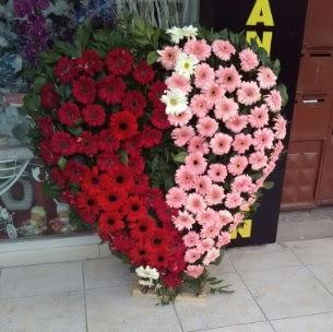 Kalp pano kalp şeklinde pano çiçeği çiçek siparişi sitesi