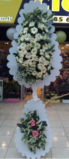 Çift katlı düğün nikah açılış çiçeği  Polatlıya çiçek Ankara çiçekçi telefonları
