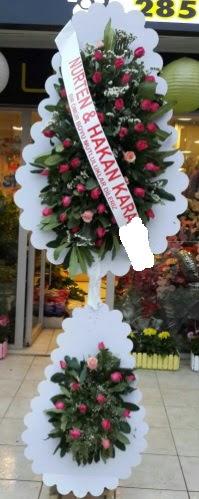 Güllü düğün nikah açılış çiçek modeli  Polatlı çiçek satışı