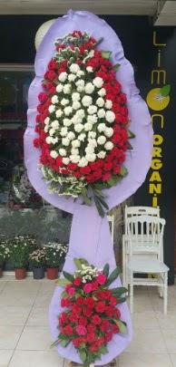 Çift katlı işyeri açılış çiçek modeli  ucuz çiçek gönder