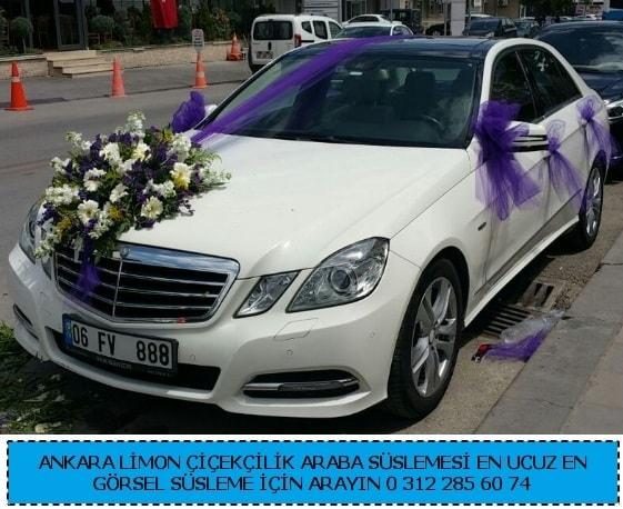 Ankara gelin arabası süslemesi  Polatlı çiçek gönderme sitemiz güvenlidir