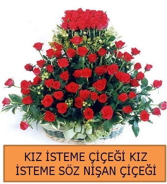 Kız isteme söz nişan çiçeği 71 güllü  Polatlı çiçek gönderme sitemiz güvenlidir
