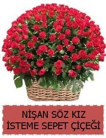 Kız isteme söz nişan çiçeği Sepeti 91 güllü  Polatlı çiçek gönderme sitemiz güvenlidir