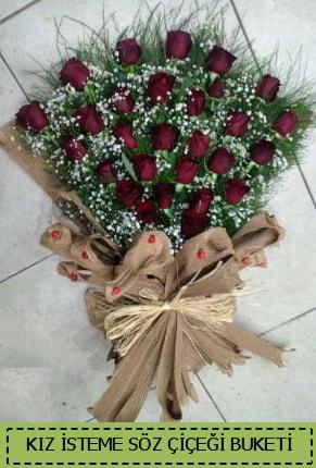 Kız isteme söz nişan çiçek buketi  Polatlıya çiçek Ankara çiçekçi telefonları
