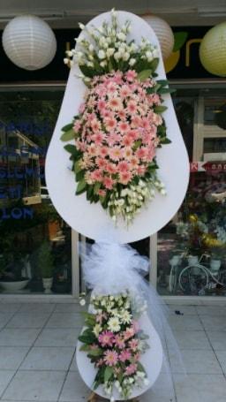 Çift katlı özel şahane sepet çiçeği  Polatlıya çiçek Ankara çiçekçi telefonları
