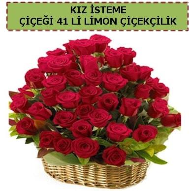 41 Adet gül kız isteme çiçeği modeli  Polatlıya çiçek Ankara çiçekçi telefonları