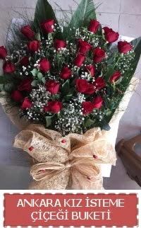 Kız isteme çiçeği kız isteme buket modeli  internetten çiçek siparişi
