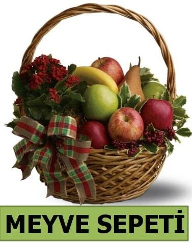 Karışık mevsim meyve sepeti  Polatlı çiçek satışı