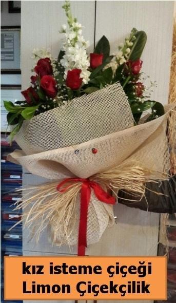 Kız isteme buketi çiçeği  ucuz çiçek gönder