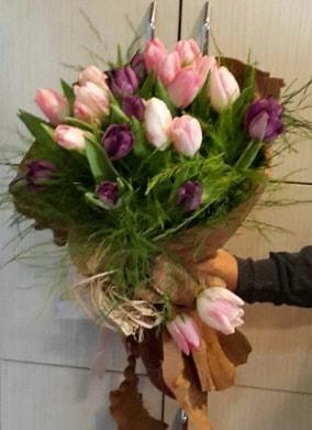 20 adet lale buketi çiçeği  Polatlı Ankara hediye çiçek yolla
