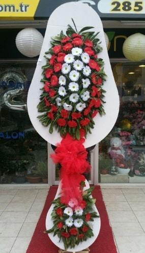 Yapay gerbera çiçeklerinden çift katlı çiçek  Polatlıya çiçek Ankara çiçekçi telefonları