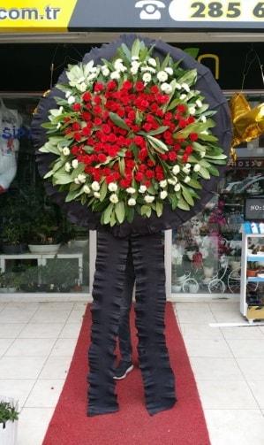 Cenaze çiçeği cenaze çelengi çiçek modeli  Ankara Polatlı İnternetten çiçek siparişi