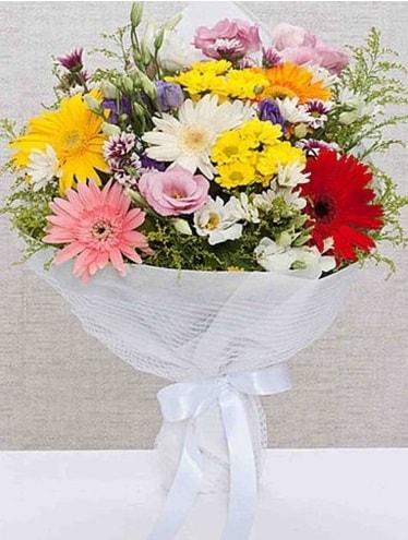 Karışık Mevsim Buketleri  ucuz çiçek gönder