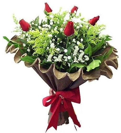 5 adet gülden buket  Polatlı çiçek gönderme sitemiz güvenlidir