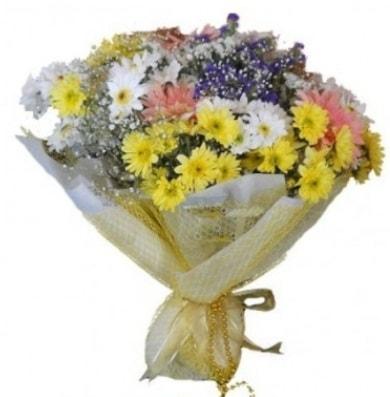 Karışık mevsim çiçeği  Polatlı çiçek satışı