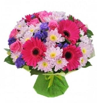 Karışık mevsim buketi mevsimsel buket  Polatlı çiçek satışı