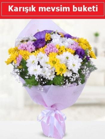 Karışık Kır Çiçeği Buketi  Polatlıda çiçekçi güvenli kaliteli hızlı çiçek