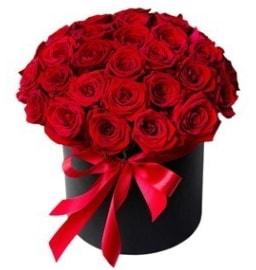 25 adet kırmızı gül kız isteme çiçeği  Polatlı internetten çiçek satışı
