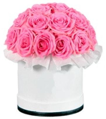 özel kutuda 20 adet pembe gül  Polatlı çiçek gönderme sitemiz güvenlidir