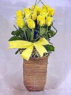 Polatlı yurtiçi ve yurtdışı çiçek siparişi  sicak ates çiçek sepet modeli